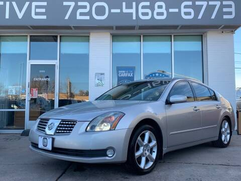 2004 Nissan Maxima for sale at Shift Automotive in Denver CO