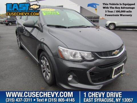 2017 Chevrolet Sonic for sale at East Syracuse Performance Sales & Service in Syracuse NY