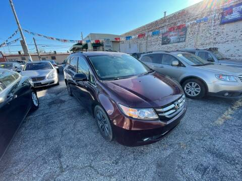 2014 Honda Odyssey for sale at Some Auto Sales in Hammond IN