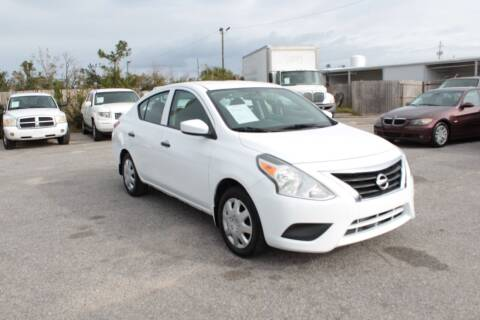 2016 Nissan Versa for sale at Jamrock Auto Sales of Panama City in Panama City FL