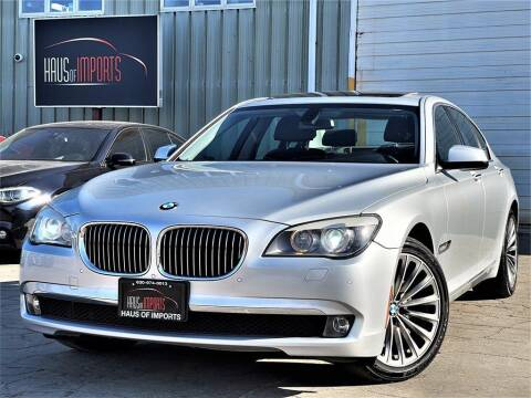 2012 BMW 7 Series for sale at Haus of Imports in Lemont IL