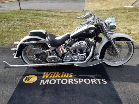 2005 Harley-Davidson Softail Deluxe for sale at WILKINS MOTORSPORTS in Brewster NY
