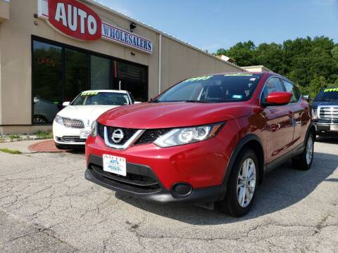 2017 Nissan Rogue Sport for sale at Auto Wholesalers Of Hooksett in Hooksett NH