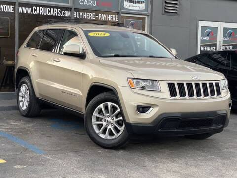 2014 Jeep Grand Cherokee for sale at CARUCARS LLC in Miami FL
