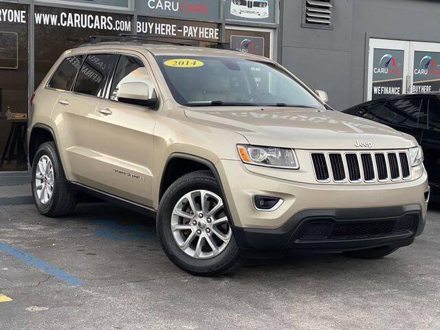 2014 Jeep Grand Cherokee for sale at CARUCARS LLC in Miami FL