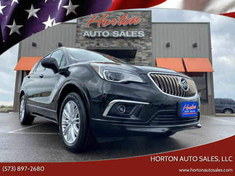 2017 Buick Envision for sale at HORTON AUTO SALES, LLC in Linn MO
