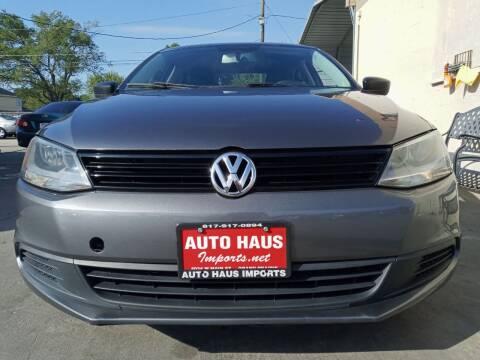 2011 Volkswagen Jetta for sale at Auto Haus Imports in Grand Prairie TX