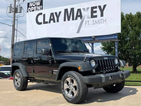 2018 Jeep Wrangler JK Unlimited for sale at Clay Maxey Fort Smith in Fort Smith AR