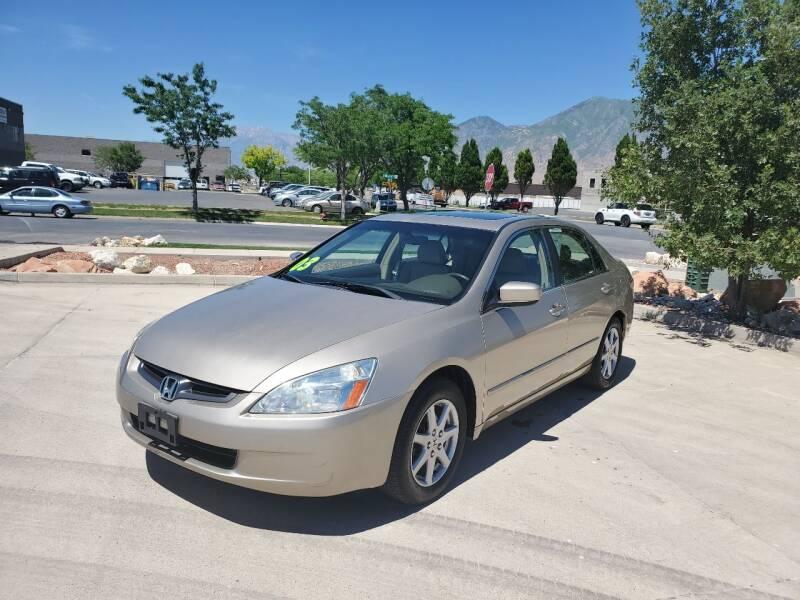 2003 Honda Accord for sale at FRESH TREAD AUTO LLC in Springville UT