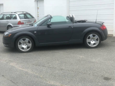 2001 Audi TT for sale at HYANNIS FOREIGN AUTO SALES in Hyannis MA