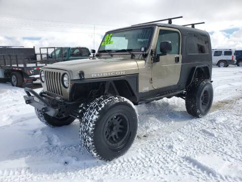 2005 Jeep Wrangler for sale at HORSEPOWER AUTO BROKERS in Fort Collins CO