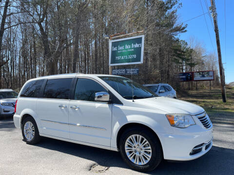 2013 Chrysler Town and Country for sale at East Coast Auto Brokers in Chesapeake VA