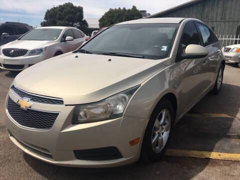 2011 Chevrolet Cruze for sale at Top Gun Auto Sales, LLC in Albuquerque NM