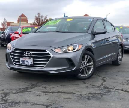 2018 Hyundai Elantra for sale at LUGO AUTO GROUP in Sacramento CA