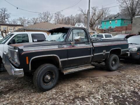 1980 GMC Sierra 2500 for sale at Gordon Auto Sales LLC in Sioux City IA