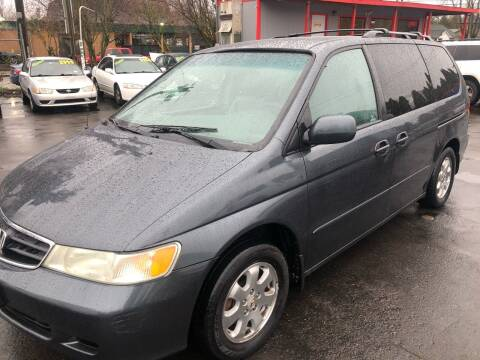 2004 Honda Odyssey for sale at Blue Line Auto Group in Portland OR