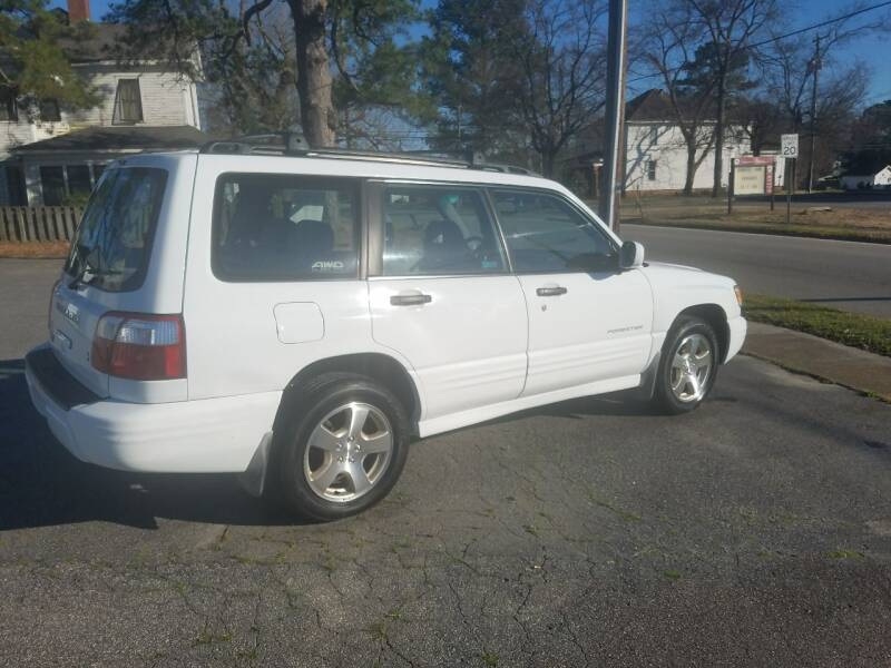 2001 Subaru Forester for sale at Rocky Mount Motors in Battleboro NC