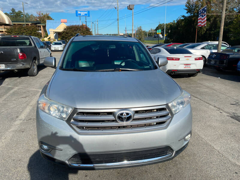 2012 Toyota Highlander for sale at J Franklin Auto Sales in Macon GA