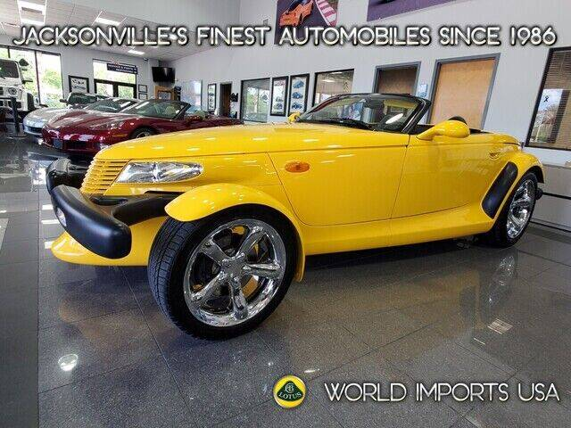 2002 Chrysler Prowler for sale in Jacksonville, FL