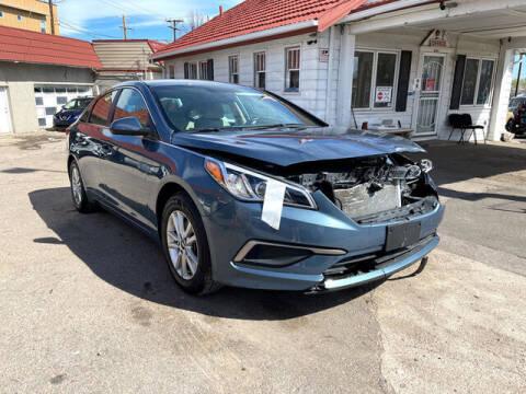 2017 Hyundai Sonata for sale at ELITE MOTOR CARS OF MIAMI in Miami FL