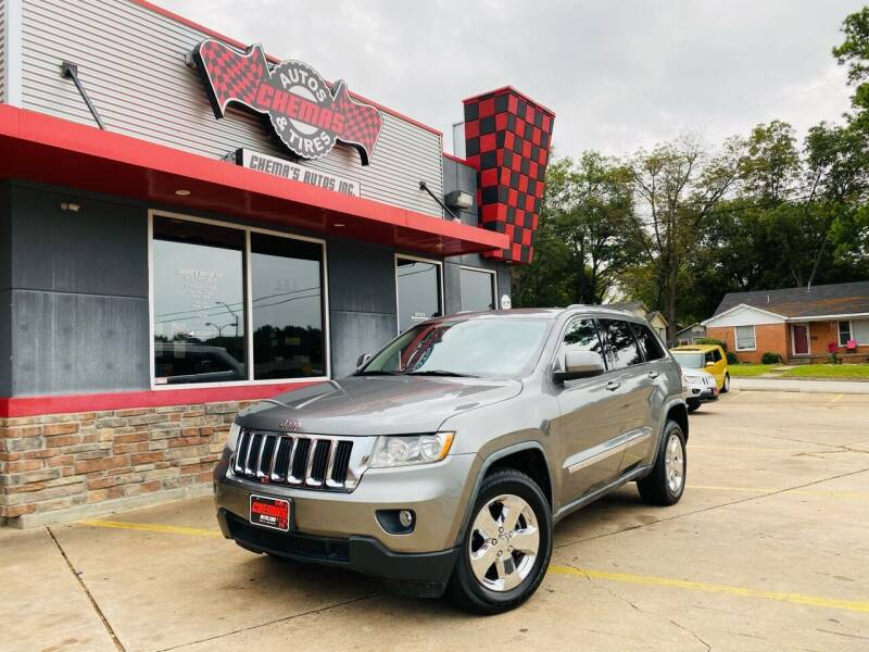 2012 Jeep Grand Cherokee for sale at Chema's Autos & Tires in Tyler TX