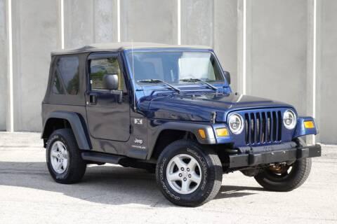2003 Jeep Wrangler for sale at Albo Auto in Palatine IL