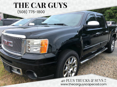 2010 GMC Sierra 1500 for sale at The Car Guys in Hyannis MA