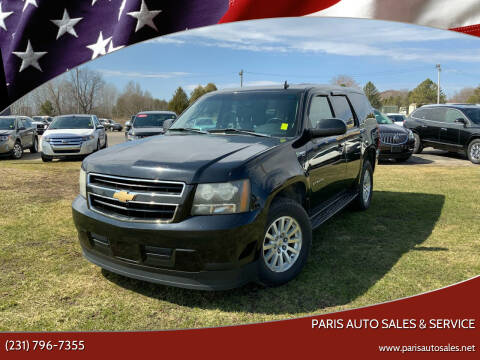 2009 Chevrolet Tahoe for sale at Paris Auto Sales & Service in Big Rapids MI