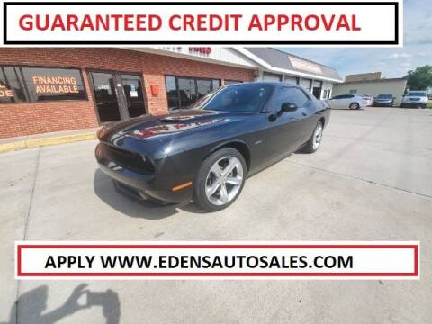 2016 Dodge Challenger for sale at Eden's Auto Sales in Valley Center KS