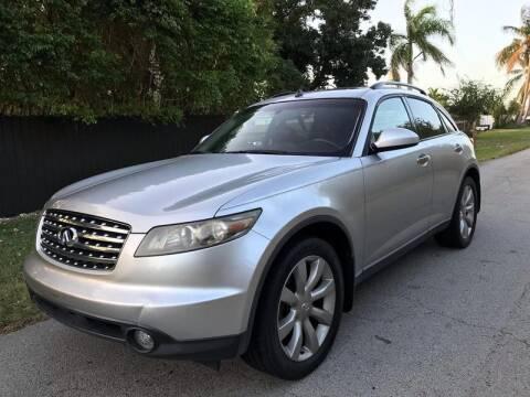 2003 Infiniti FX35 for sale at LA Motors Miami in Miami FL