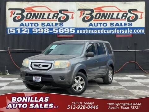 2011 Honda Pilot for sale at Bonillas Auto Sales in Austin TX