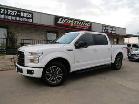 2016 Ford F-150 for sale at Lightning Motorsports in Grand Prairie TX