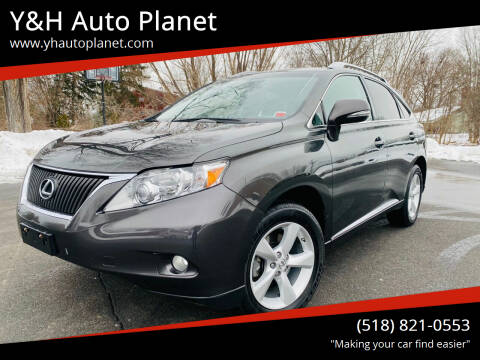 2010 Lexus RX 350 for sale at Y&H Auto Planet in West Sand Lake NY