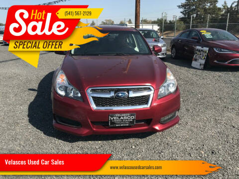 2012 Subaru Legacy for sale at Velascos Used Car Sales in Hermiston OR