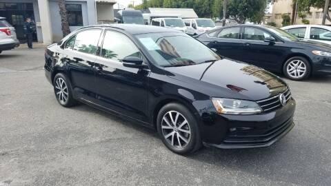 2017 Volkswagen Jetta for sale at In-House Auto Finance in Hawthorne CA