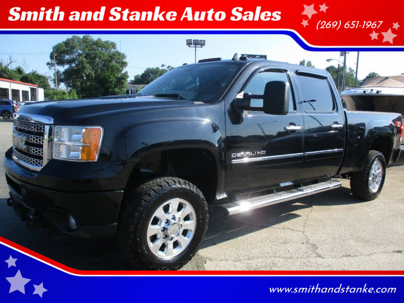 2011 GMC Sierra 3500HD for sale at Smith and Stanke Auto Sales in Sturgis MI