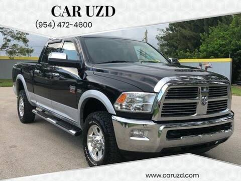 2012 RAM Ram Pickup 2500 for sale at CAR UZD in Miami FL