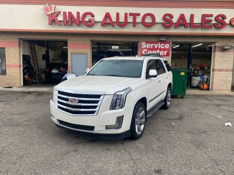 2015 Cadillac Escalade for sale at KING AUTO SALES  II in Detroit MI