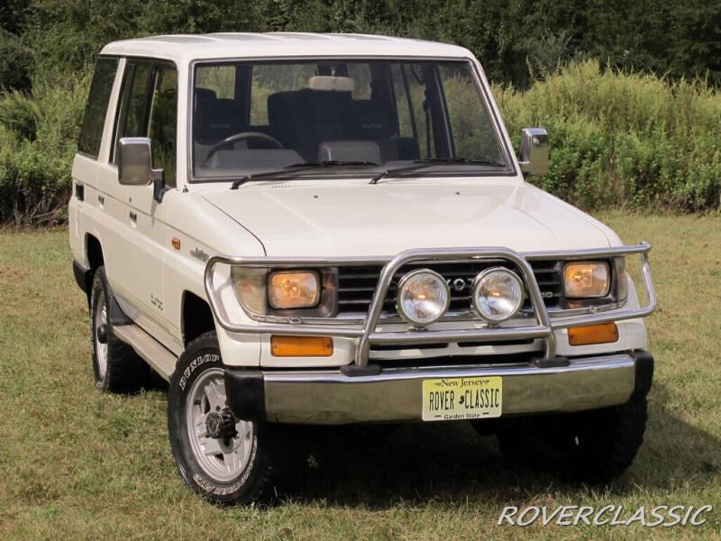 1992 Toyota Land Cruiser for sale at Isuzu Classic in Cream Ridge NJ