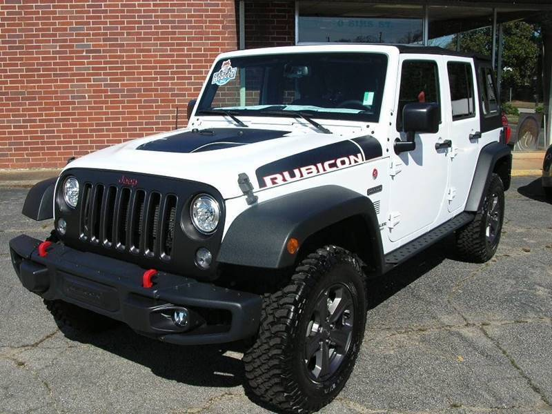 2017 Jeep Wrangler Unlimited for sale at South Atlanta Motorsports in Mcdonough GA