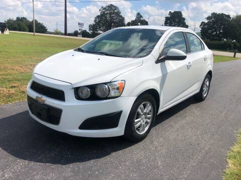 2014 Chevrolet Sonic for sale at Champion Motorcars in Springdale AR