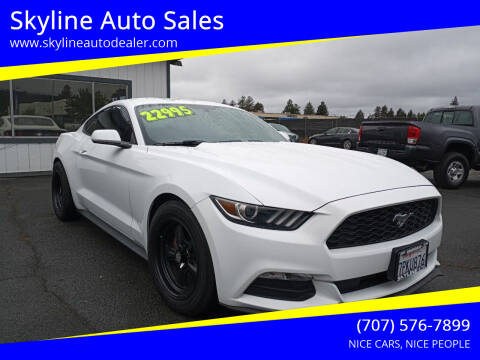 2016 Ford Mustang for sale at Skyline Auto Sales in Santa Rosa CA