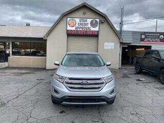 2015 Ford Edge for sale at Utah Credit Approval Auto Sales in Murray UT