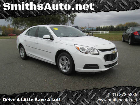 2016 Chevrolet Malibu Limited for sale at SmithsAuto.net in Hart MI