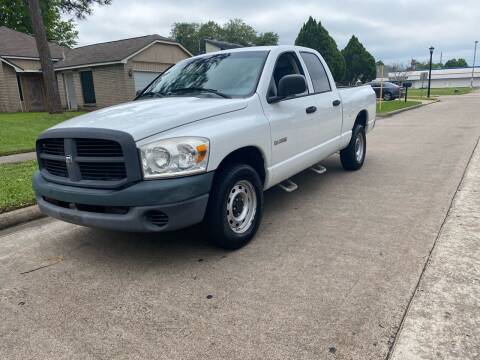 2008 Dodge Ram Pickup 1500 for sale at Demetry Automotive in Houston TX