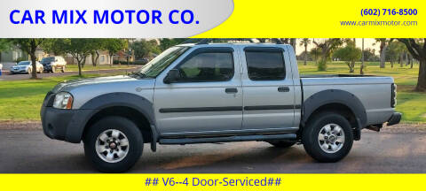2002 Nissan Frontier for sale at CAR MIX MOTOR CO. in Phoenix AZ
