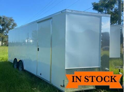 2022 Titanium Cargo 8.5 x 20 TA 2 for sale at Grizzly Trailers in Fitzgerald GA