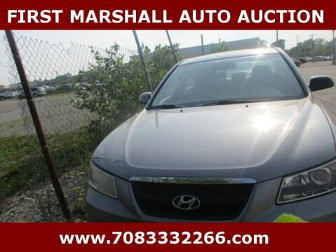 2008 Hyundai Sonata for sale at First Marshall Auto Auction in Harvey IL