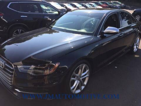 2013 Audi S6 for sale at J & M Automotive in Naugatuck CT