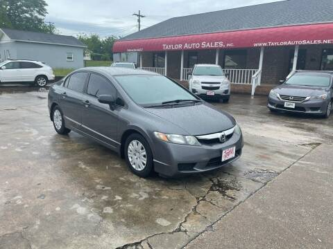 2009 Honda Civic for sale at Taylor Auto Sales Inc in Lyman SC